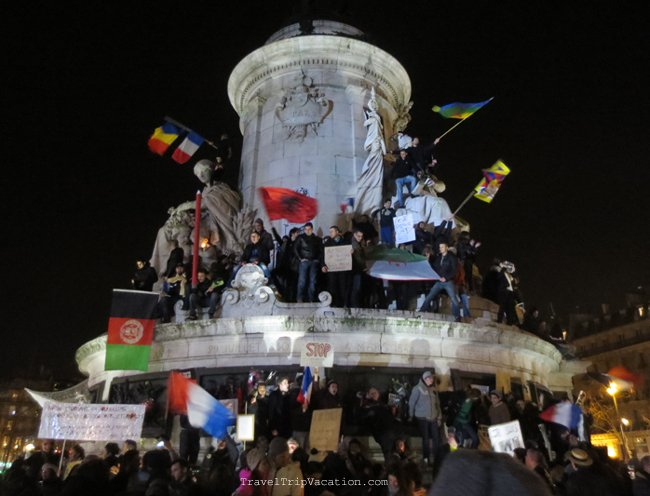 je suis charlie - peace rally paris january 2015